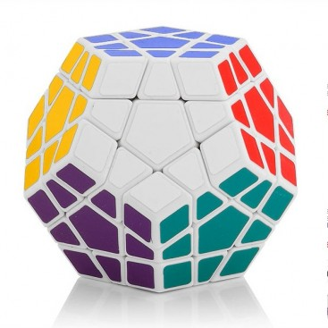 ShengShou Megaminx 12x12 Minx Mágico. Base Blanca