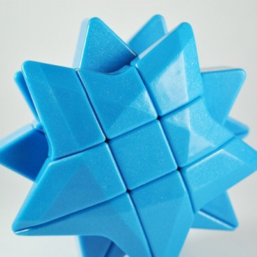 3x3 Estrella Azul. Blue Star de YongJun
