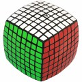 Cubo mágico V-Cube 8x8 Base Negra. 8x8x8 Vcube Black.