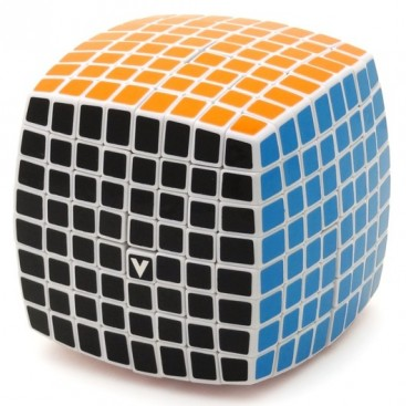 V-Cube 8x8 Magic Cube. White Base