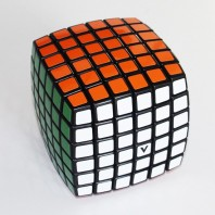 Cubo Mágico 6x6 Base Negra V-Cube Pillow. Vcube 6b Black