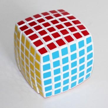 Cubo Mágico 6x6 Base Blanca V-Cube Pillow. Vcube 6b White