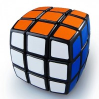 QJ 3x3x3 Pillow Magic Cube. Black Base