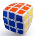 QJ 3x3x3 Pillow Magic Cube. White Base