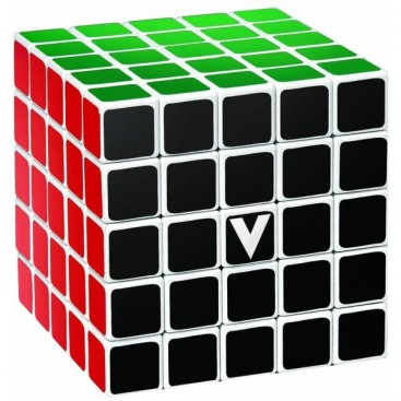 V-Cube 5x5 Magic Cube. White Base