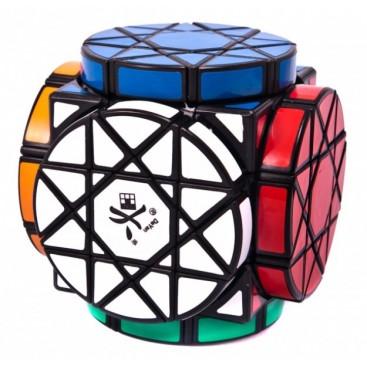 Dayan Wheels of Wisdom Magic Cube. Black Base