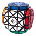 Dayan Wheels of Wisdom Magic Cube. Black Base