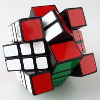 Witeden 4x4x3 MixUp Magic Cuboid. Black Base