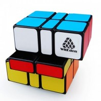 WitEden Camouflage 3x3x2 Magic Cuboid. Black Base