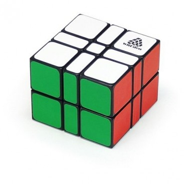 WitEden Camouflage 3x3x2 Cuboide Mágico. Base Negra