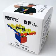 Moyu Aosu 4x4x4 Cubo Mágico. Base Negra
