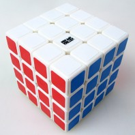 Moyu Aosu 4x4x4 Magic Cube. White Base