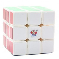 Moyu YJ Chilong 3x3x3 Magic Cube. White Base