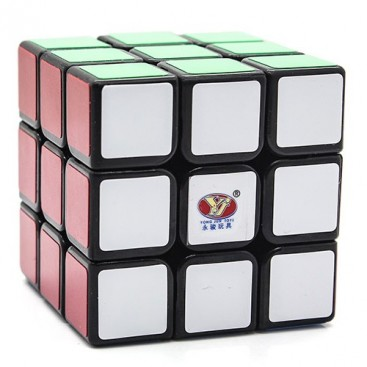 Moyu YJ Chilong 3x3x3 Magic Cube. Black Base
