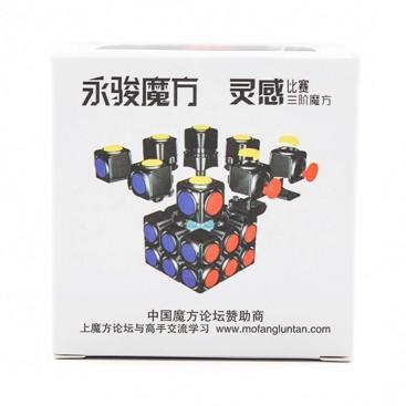 Moyu YJ Sulong 3x3 White. SpeedCubing. Moyu 3x3x3 Base Blanca.