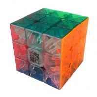Moyu YJ Yulong 3x3x3 Transparent Magic Cube