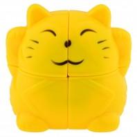 Gato de la Fortuna 2x2x2. Cubo mágico Fortune Cat 2x2.