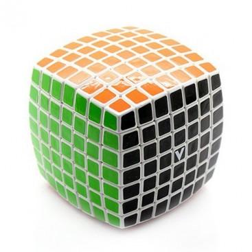 Cube 7 x 7 x 7 V-Cube Base white