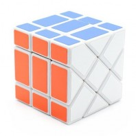 YJ FISHER CUBE 3x3 WHITE BASE
