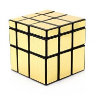 3 x 3 x 3 cube Mirror's oro-mate. Mirror Gold 3 x 3.