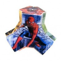 Platypus Spiderman. Magic Cube Spider-man.