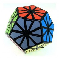 Pyraminx Crystal black. Magic Pyraminx cube.