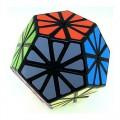 Pyraminx Crystal Minx Mágico. Base Negra con stickers
