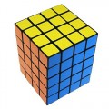 Cuboid 4x4x5 Magic Cube. Black Base