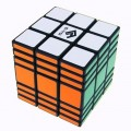 Cuboid 3x3x7 Magic Cube. Black Base