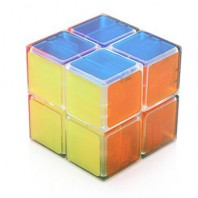 TRANSPARENT cube 2 x 2 LANLAN. GLASS CUBE 2 x 2 x 2