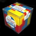 Cubo Puzzle BEDLAM. Cubo Mini crazee retro.