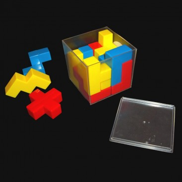 BEDLAM Puzzle Cube. Mini Crazee Cube