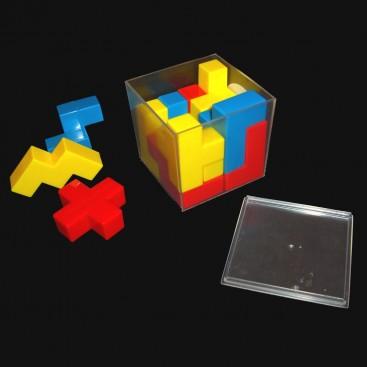 Cubo Puzzle BEDLAM. Cubo Mini crazee retro.