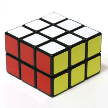 Magic Cube 3 x 3 x 2. BLACK BASE COLOR
