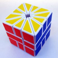 Square 2 Magic Cube. Sq2 White Base