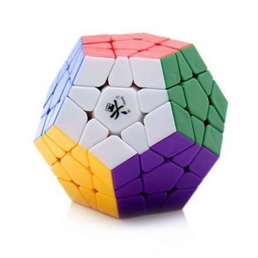 DAYAN MEGAMINX. SOLID 6 COLORS. 12 x 12 cube