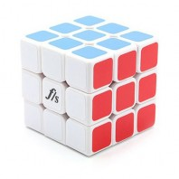 NEW 3 x 3 FANGSHI SHUANG REN II. CUBE 3 x 3 x 3 Professional. FANGSHI WHITE BASE VERSION 2.