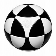 Marusenko Sphere 2x2x2 Black and White. Level 1