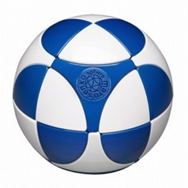 SPHERE 2 x 2 I. MARUSENKO 2 x 2 x 2 white and blue. LEVEL 1