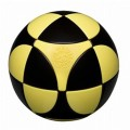 Marusenko Sphere 2x2x2 Black and Yellow. Level 1
