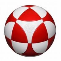 Esfera 2x2 I. Marusenko 2x2x2 Blanco Y Rojo. Nivel 1