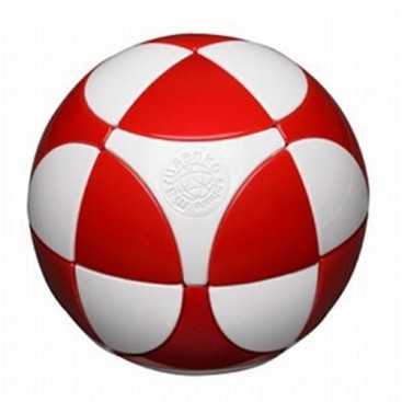 SPHERE 2 x 2 I. MARUSENKO 2 x 2 x 2 white and red. LEVEL 1