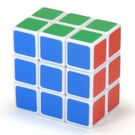 Magic Cube 3 x 3 x 2. WHITE BASE COLOR