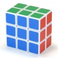 Cuboid 3x3x2 Magic Cube. White Base