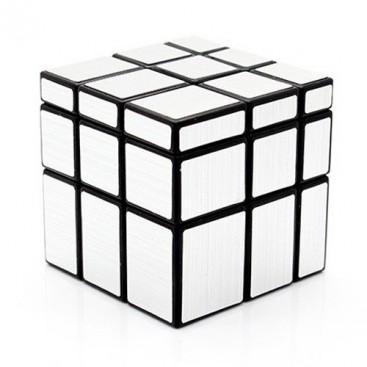 3 x 3 x 3 cubo espelho completo PLATA-MATE. ESPELHO prata 3 x 3.