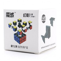 Moyu Huanying 3x3x3 Magic Cube. Black Base
