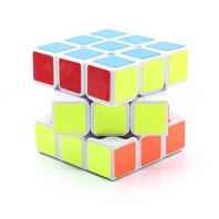 Moyu Huanying 3x3x3 Magic Cube. White Base