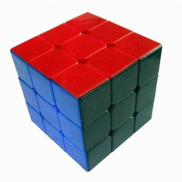 DAYAN ZHANCHI SOLID 6 COLORES 3x3 NEGRO. ZHANCHI V 6 COLORS BLACK.
