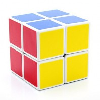 Cubo 2x2 SHENGSHOU. Magic Cube 2 x 2 x 2 BASE branca.