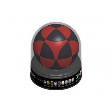 Marusenko Sphere 2x2x2 Black and Red. Level 1